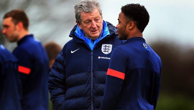 罗伊 - 霍奇森 - 英格兰 - 经理 - 世界杯-2014