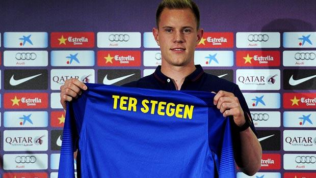 捷尔 - Stegen的 - 巴塞罗那 - 守门员