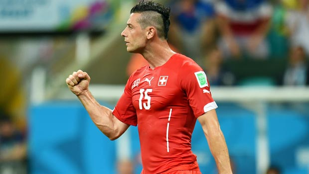 Blerim-Dzemaili - 瑞士 - 中场 - 世界 - 世界杯