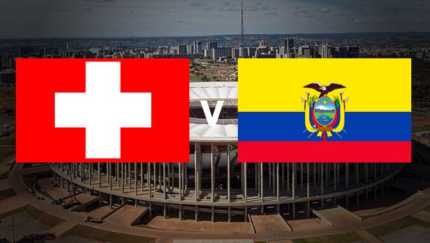 赛事前瞻- 瑞士 - V-厄瓜多尔
