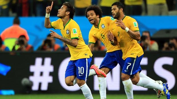 内马尔-巴西-世界杯