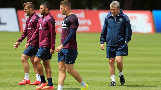 罗伊 - 霍奇森,英格兰队 - 世界 - 世界杯