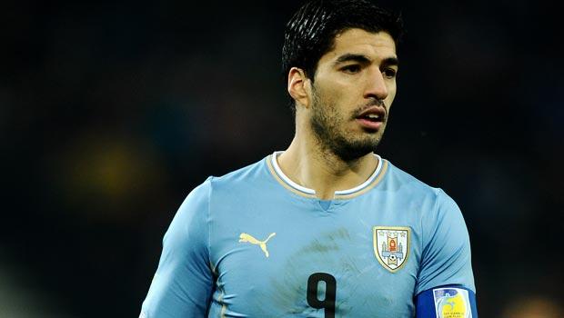乌拉圭 - 路易斯 - 苏亚雷斯 - 世界杯-20141