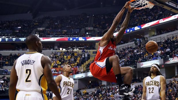 Clippers win ninth in a row, beating the Indiana Pacers