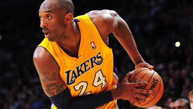 Kobe Bryant as the Lakers' starting point guard
