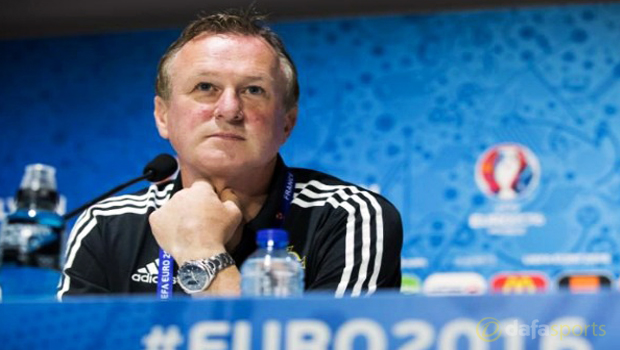 Northern-Ireland-manager-Michael-O-Neill-Euro-2016