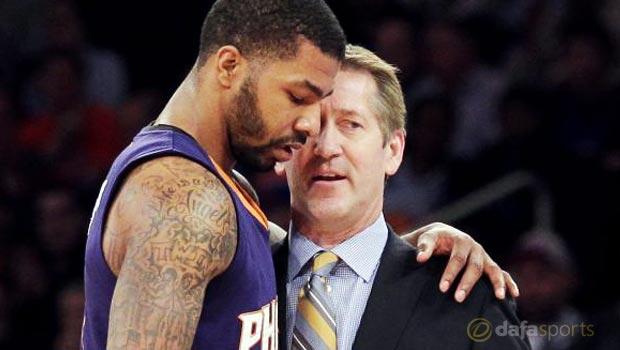 Phoenix-Suns-Head-coach-Jeff-Hornacek-and-Markieff-Morris